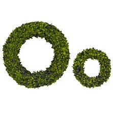 Round Boxwood  Wreath