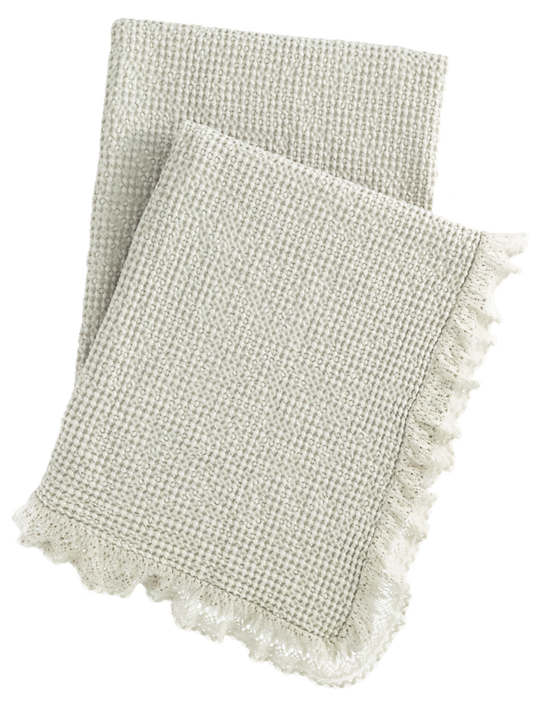 Wruffle Moonstone Matelassé Throw
