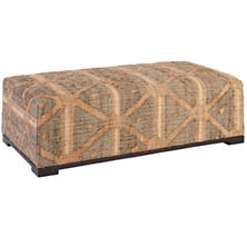 Rumi Upholstered Rug Bench