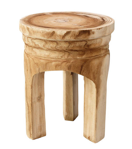 Rustique Wooden Stool