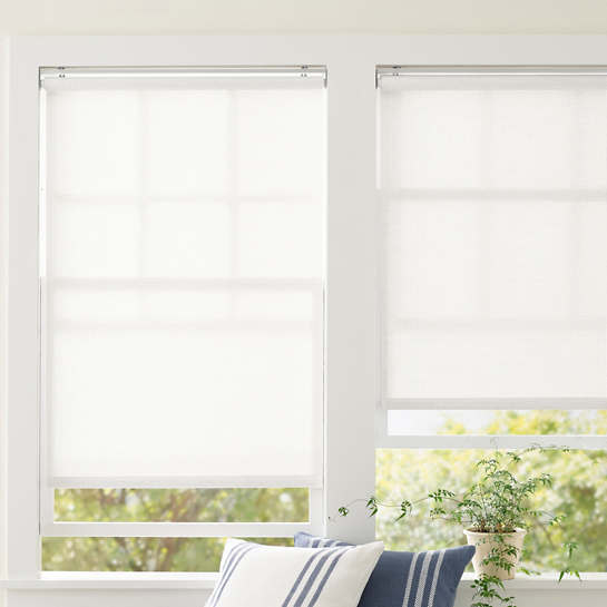 Ridge Cordless Roller White Shade
