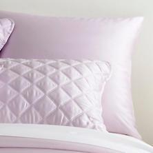 Silken Solid Pale Lilac Sham