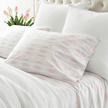 Carolina Percale Pink Sheet Set