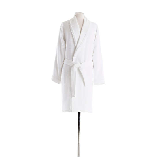 Lisette White Robe
