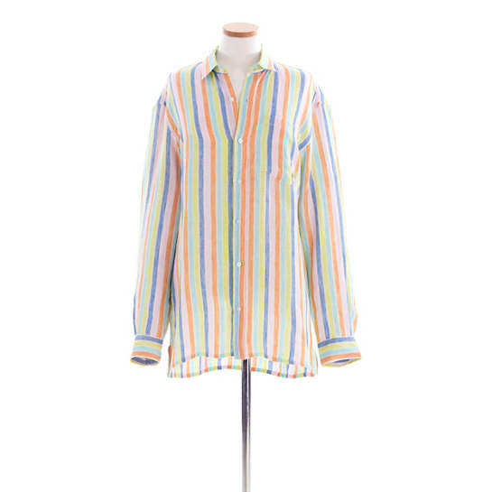 Reese Linen Multi Stripe Shirt