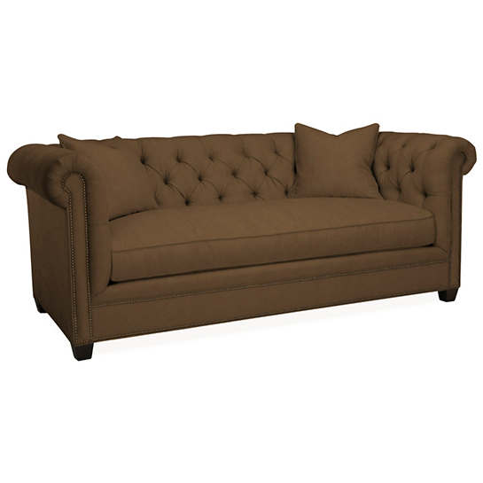 Velvesuede Camel Richmond Sofa