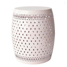 Light Pink Glaze Stool