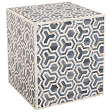 Pari Hex Grey Stool