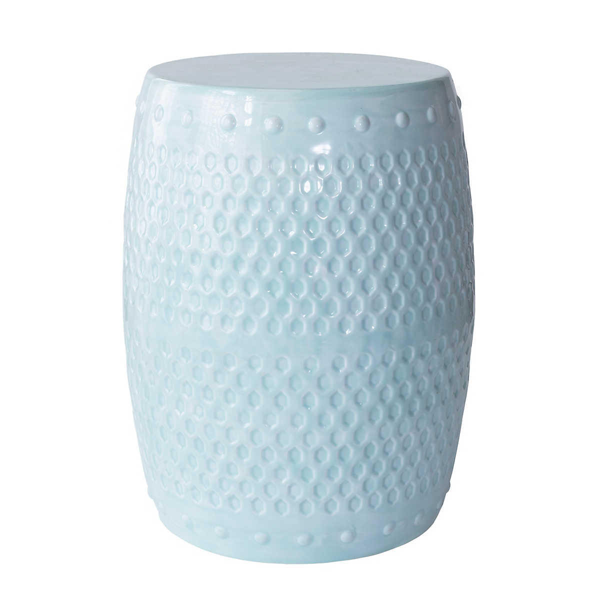 Robinu0027s Egg Blue Glaze Stool