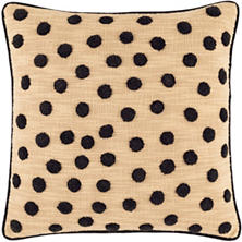 Saharan Embroidered Decorative Pillow
