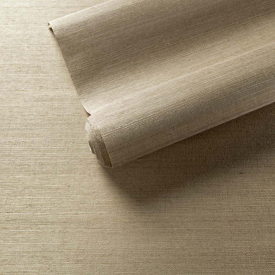 Samoa Pebble Grasscloth Wallpaper