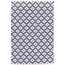 Samode Denim/Ivory Indoor/Outdoor Rug