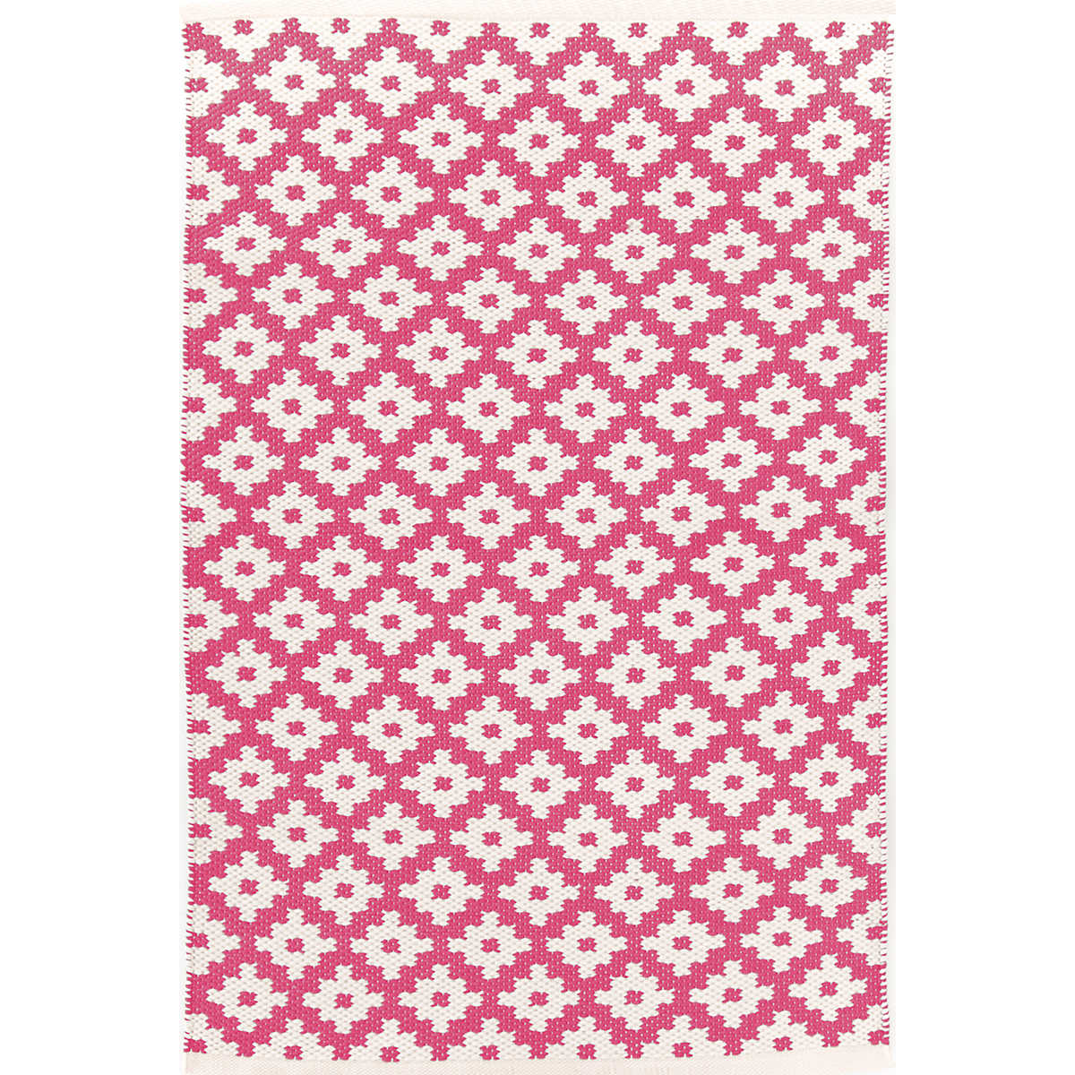 Samode Fuchsia Ivory Indoor Outdoor Rug The Outlet