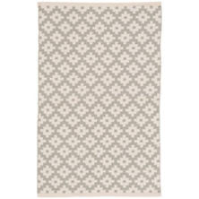Samode Platinum/Ivory Indoor/Outdoor Rug