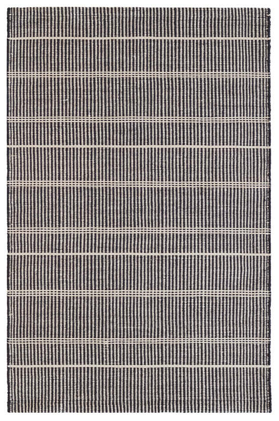 Samson Black Indoor/Outdoor Rug