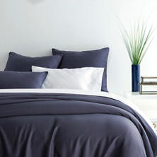 Essential Sateen Blue Duvet Cover