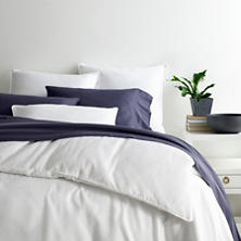 Essential Sateen White Duvet Cover