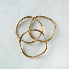 Saturn Bangles/Set Of 3