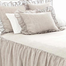 Savannah Linen Chambray Dove Grey Sham