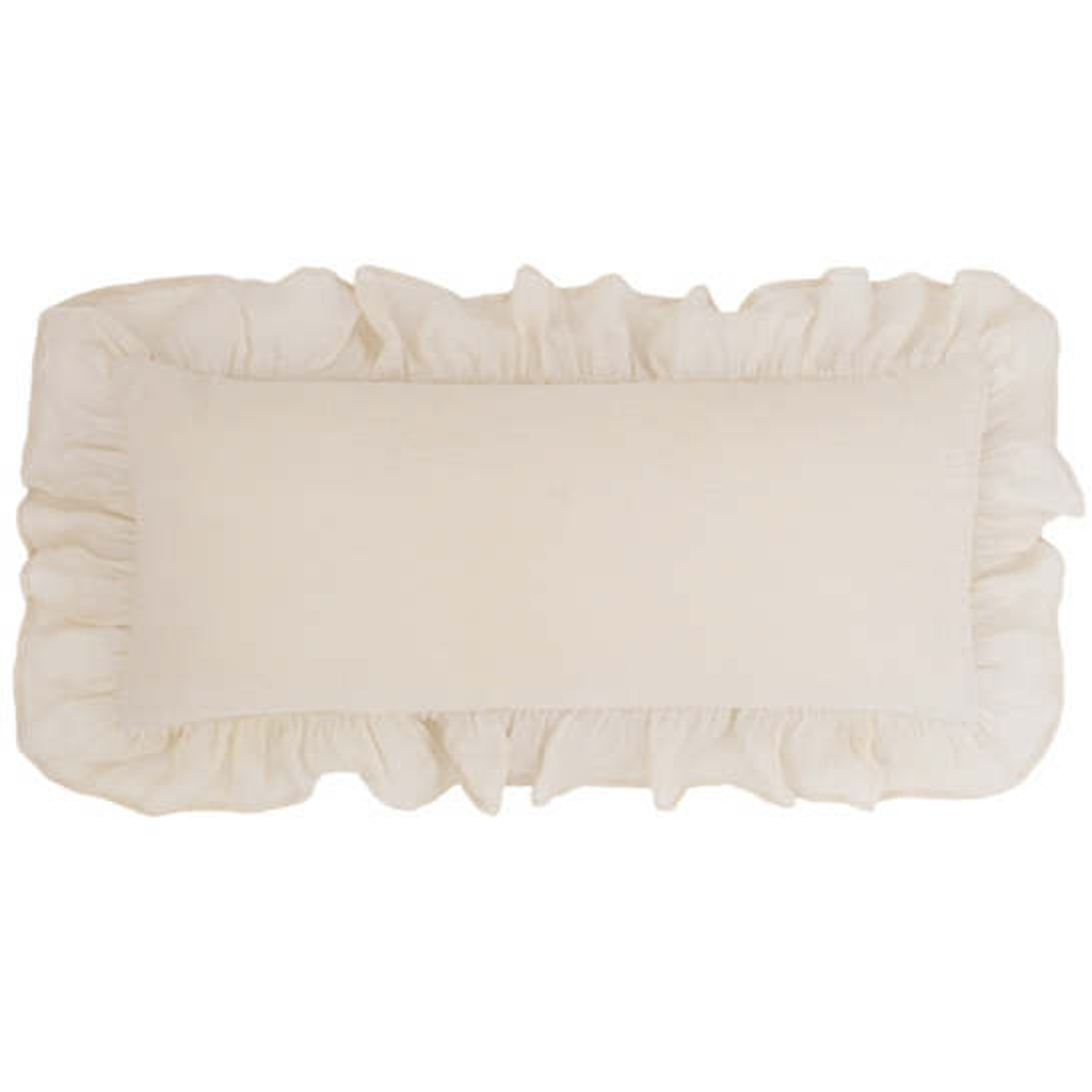 Savannah Linen Gauze Tea Stain Decorative Pillow