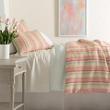 Savona Stripe Linen Duvet Cover