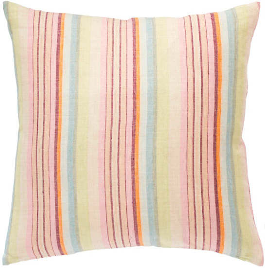 Savona Stripe Linen Decorative Pillow