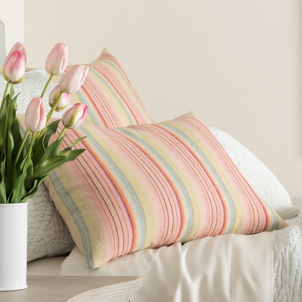 Savona Stripe Linen Sham