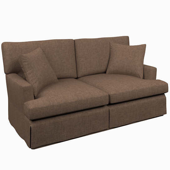 Greylock Brown Saybrook 2 Seater Upholstered Sofa