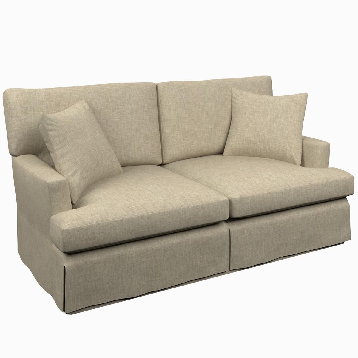 Greylock Grey Saybrook 2 Seater Upholstered Sofa