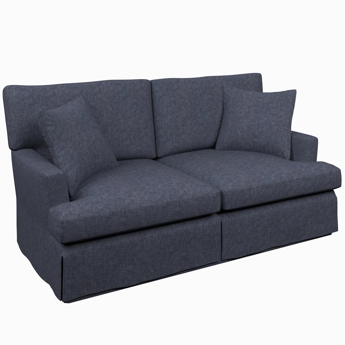Greylock Navy Saybrook 2 Seater Sofa