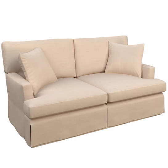 Solstice Petal Saybrook 2 Seater Slipcovered Sofa