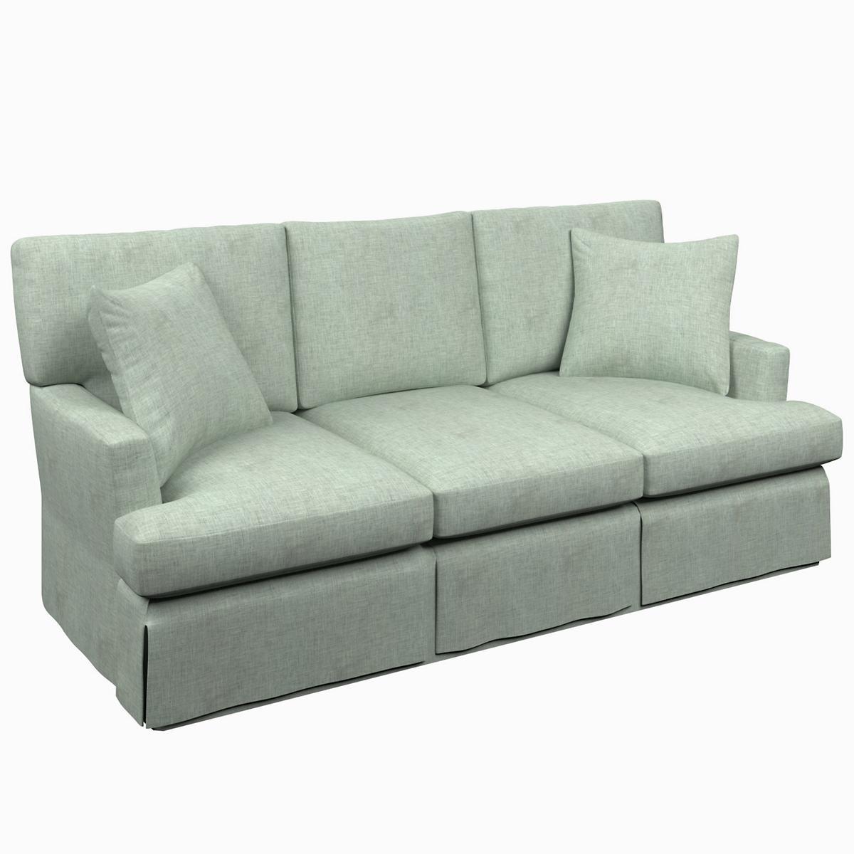 Greylock Light Blue Saybrook 3 Seater Slipcovered Sofa