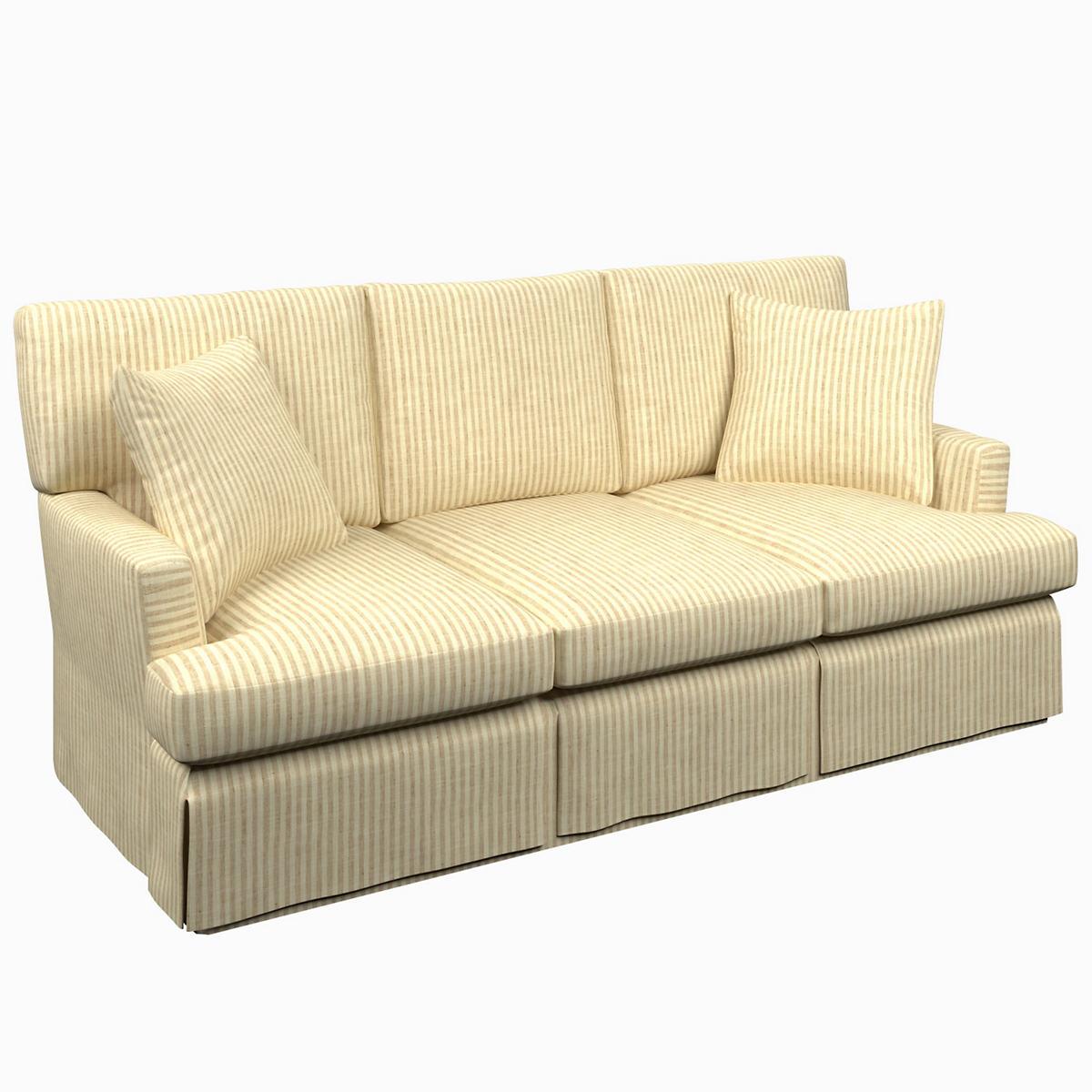 Adams Ticking Natural Saybrook 3 Seater Sofa