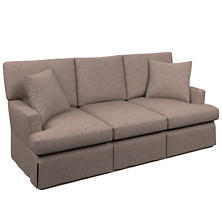 Canvasuede Heather Saybrook 3 Seater Upholstered Sofa