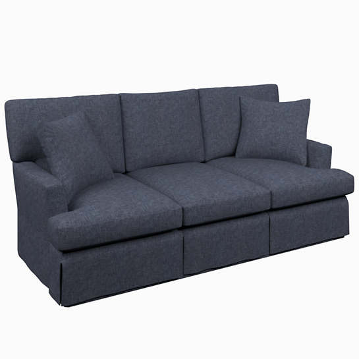 Greylock Navy Saybrook 3 Seater Upholstered Sofa