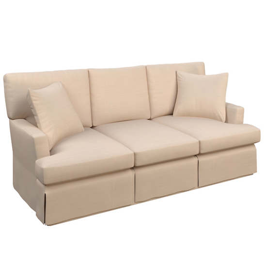 Solstice Petal Saybrook 3 Seater Slipcovered Sofa