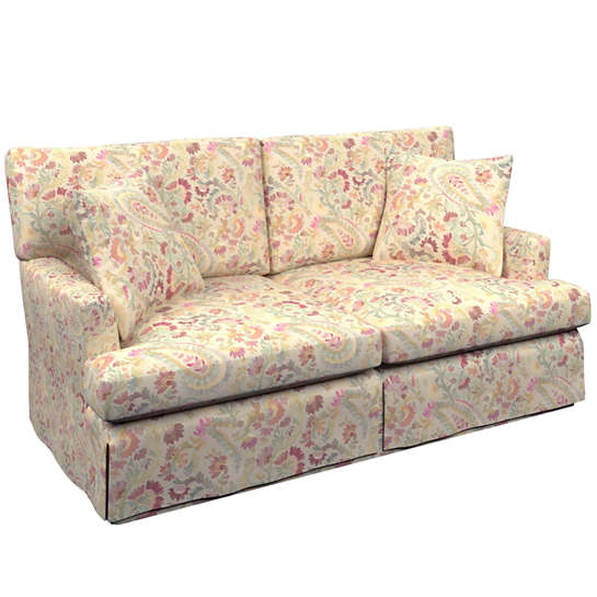 Ines Linen Saybrook 2 Seater Slipcovered Sofa