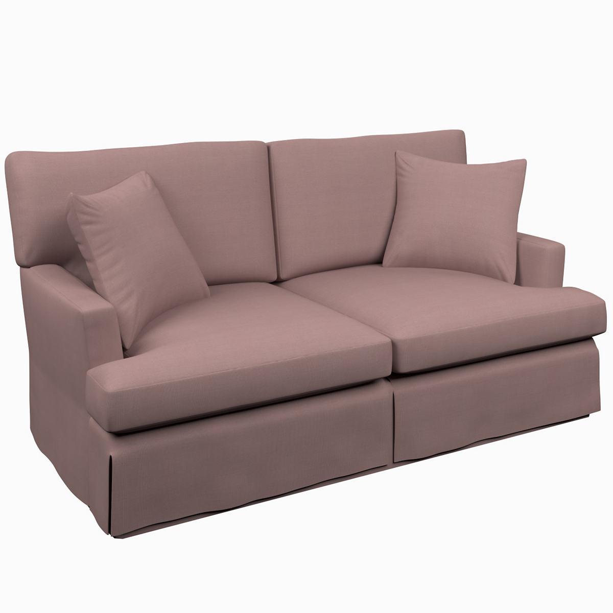 Estate Linen Zinc Saybrook 2 Seater Upholstered Sofa