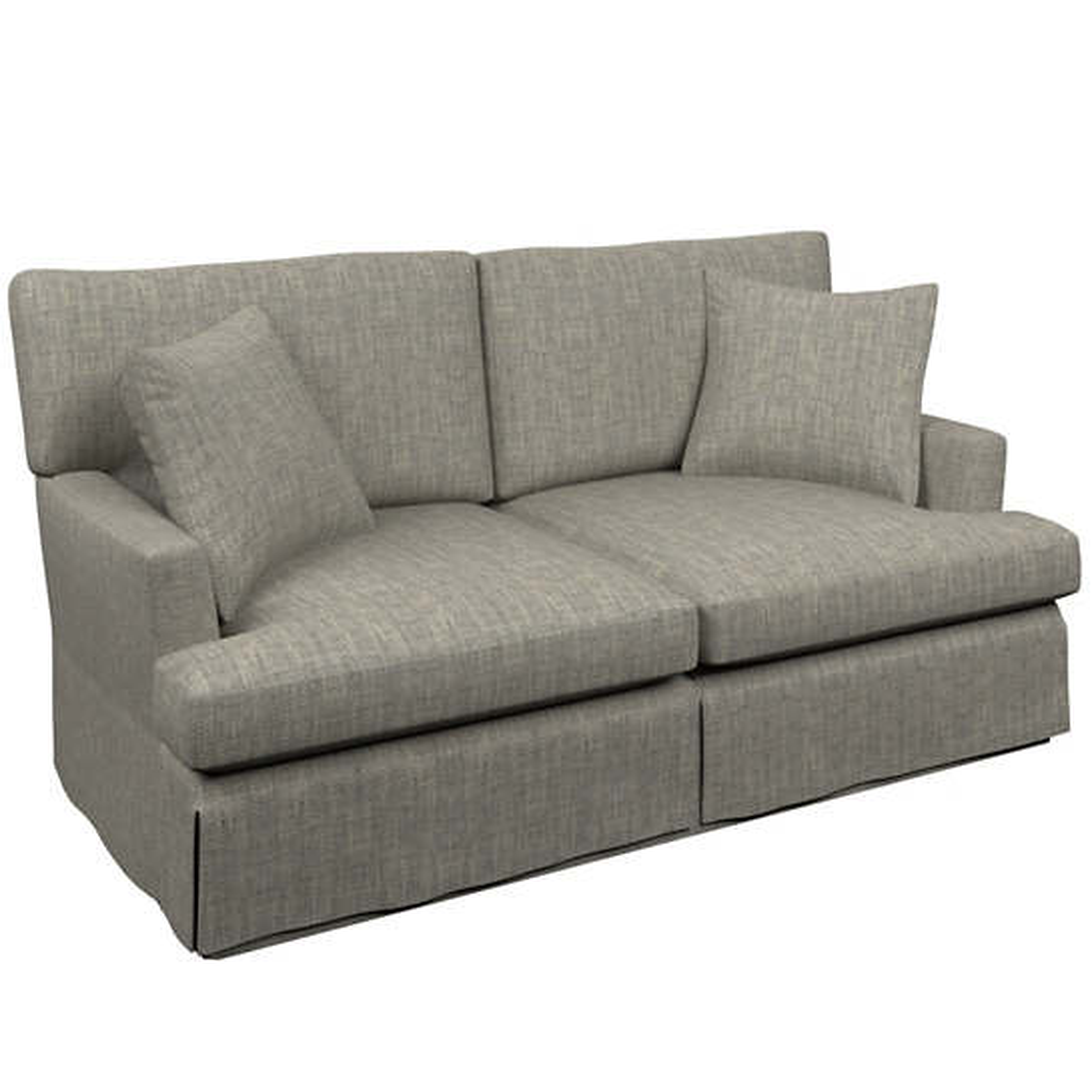 Chevron Indigo Saybrook 2 Seater Sofa