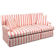 Alex Coral Saybrook 3 Seater Slipcovered Sofa
