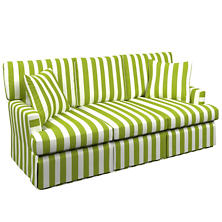 Alex Green Saybrook 3 Seater Slipcovered Sofa
