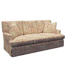 Ines Linen Saybrook 3 Seater Slipcovered Sofa
