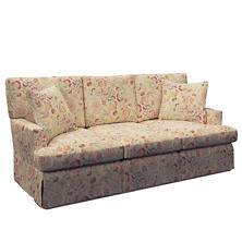 Ines Linen Saybrook 3 Seater Upholstered Sofa