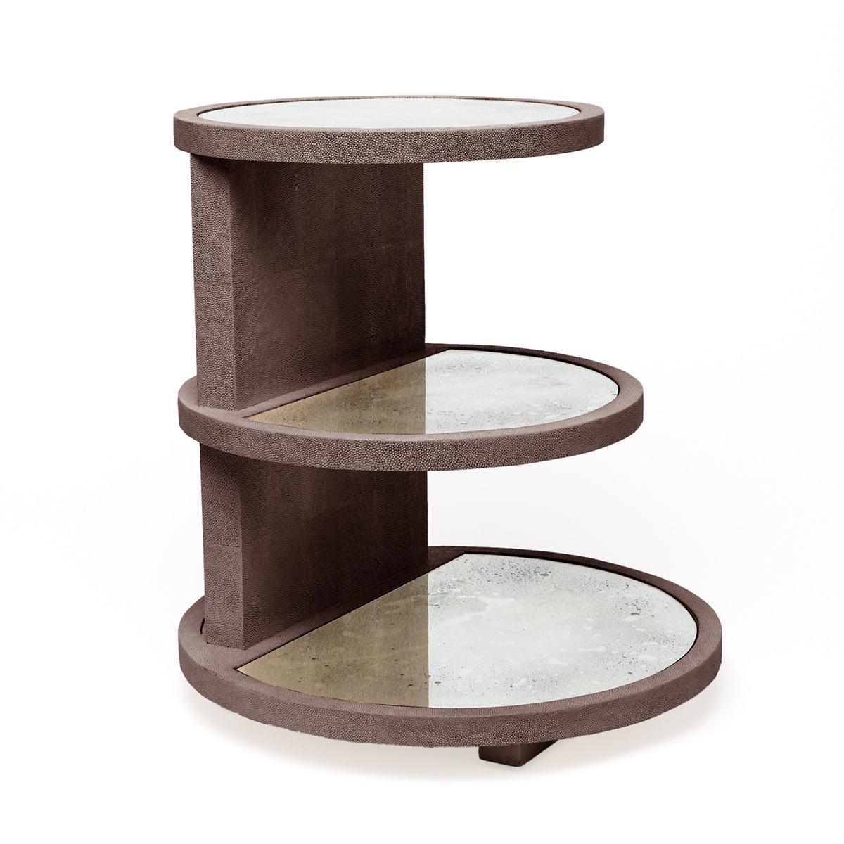 Seal Talia Three-Tier Side Table