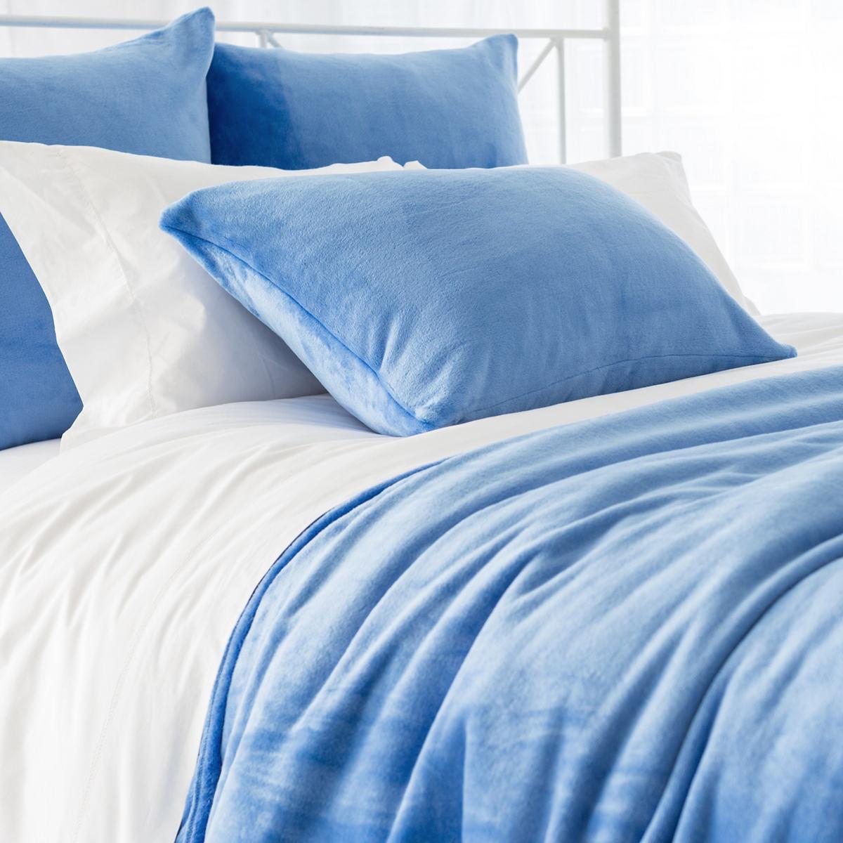 Selke Fleece French Blue Blanket