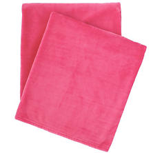 Selke Fleece Fuchsia Throw