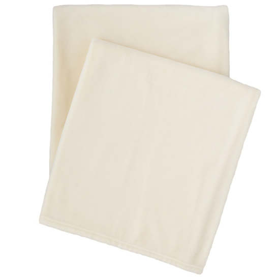 Selke Fleece Ivory Throw