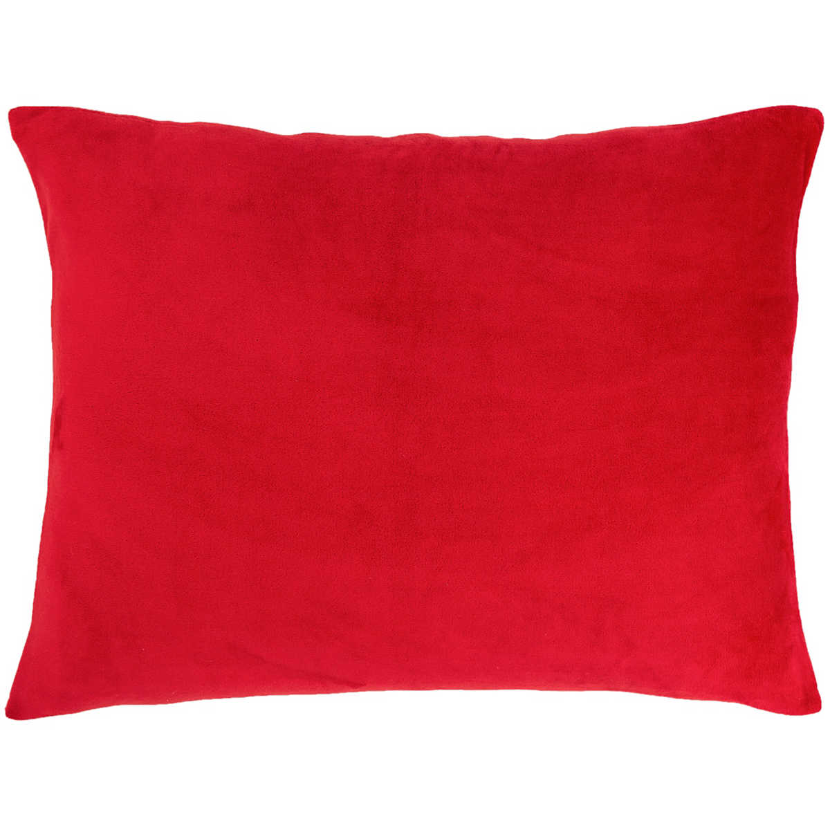 Selke Fleece Red Decorative Pillow The Outlet
