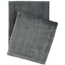 Selke Fleece Shale Throw