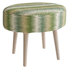 Sequoia Evergreen Mini Ottoman